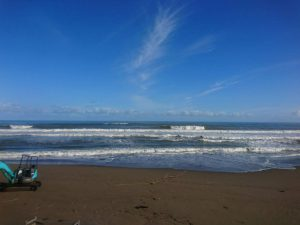 藤崎区から見た日本海