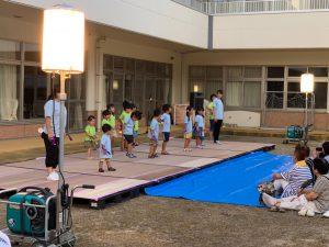 オープニングの2園保育園児踊り